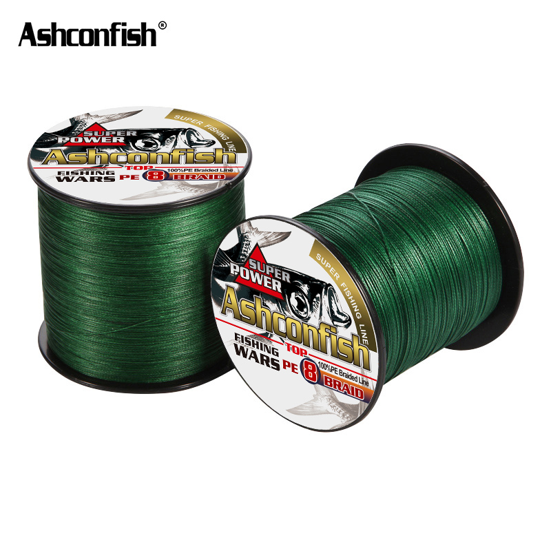 Ocean Rock Fishing 8 Strands japan Multifilament braided wires spectra 100M pe braided fishing line green super pe line 6-300LB