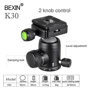 Image 3 - BEXIN Camera Accessories professional 360 degrees Rotation panoramic dslr camera tripod Monopod adpter mount ball head ballhead