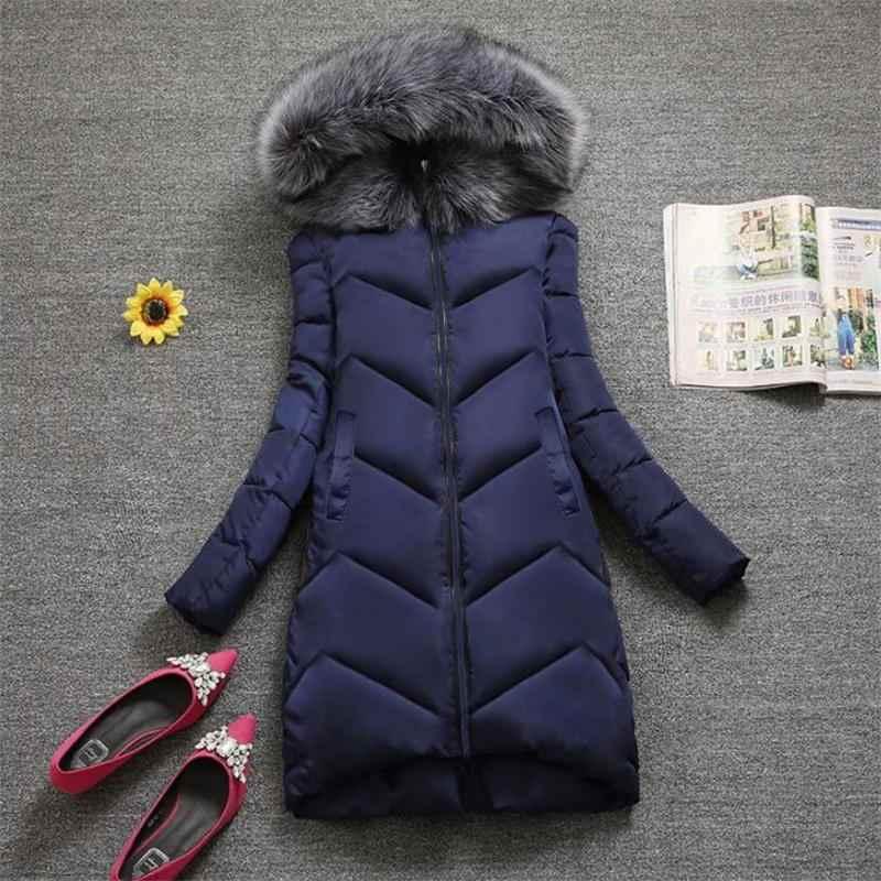 2020 Winter Jacke Frauen Plus größe 7XL Mit Kapuze Unten Jacke Big Aritificial Pelzmantel weibliche Lange Outwear Dicke Warme Unten parka