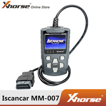 Xhorse Iscancar MM007 strumento diagnostico e di manutenzione supporto MM007 aggiornamento Offline per correzione chilometraggio Audi/Skoda/Seat e MQB