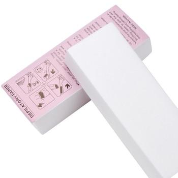 100Pcs Professional Armpit Leg Hair Removal Wax Paper Strips Cloth Nonwoven Tool