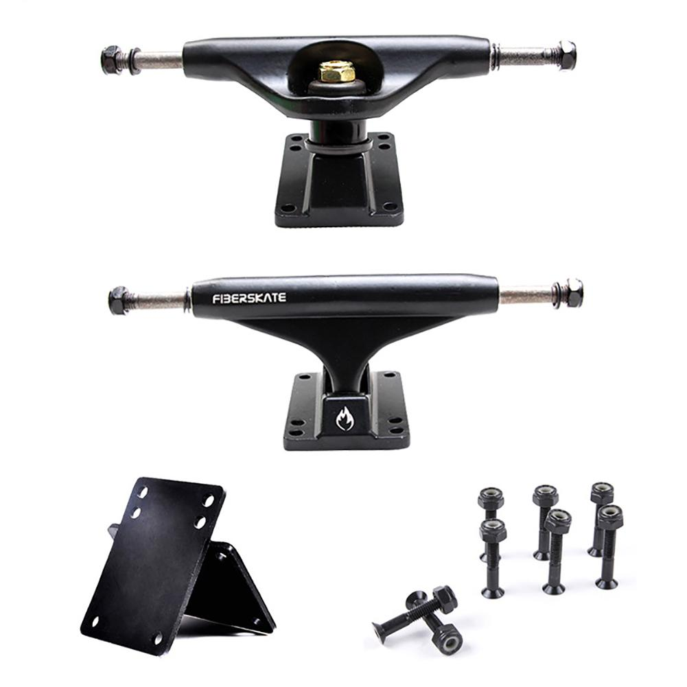 5 Inch Adult Skateboard Truck Independent Bridge Skateboard Bracket Double Rocker Aluminum Magnesium Alloy Truck Accessory