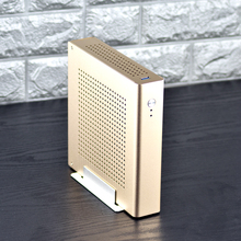 New PC Gamer Case Computer Safe Cabinet Full Tower Mini Thin ITX Desktop Gaming Empty Chassis USB Aluminum Alloy Free shipping jonsbo c2 c2r mini pc chassis mini itx atx case vertical all aluminum alloy usb 3 0 support video card