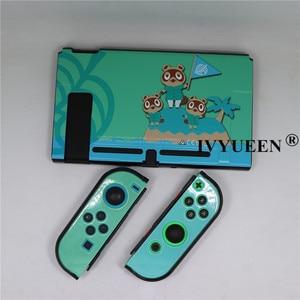 Image 2 - IVYUEEN 들어 NintendoSwitch NS 콘솔 동물 횡단 보호 하드 케이스 쉘 닌텐도 스위치 커버 게임 액세서리