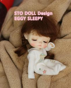 Image 5 - Pre sale  December  Sto dolls EGG  DUMMY   customization 1/8 BJD dolls OB doll  DIY Ob 11 doll  head