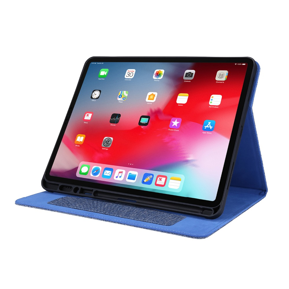 12.9 2020 iPad inch Pro Pro Gen Coque With 4th Tablet For For Case iPad Holder Pencil