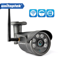 HD 1080P Wifi IP Camera Wireless Outdoor ONVIF CCTV Security Camera Wi Fi Waterproof IR 20M Night Vision Metal P2P CamHi