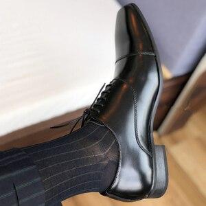Image 5 - Merkmak erkek ayakkabısı 2020 yeni bahar elbise ayakkabı yüksek kaliteli iş PU deri dantel up ayakkabı resmi ayakkabı düğün için parti