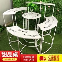 New Tieyi Wedding Projects, Cake Table Combination, Creative Dessert Table, Shelf