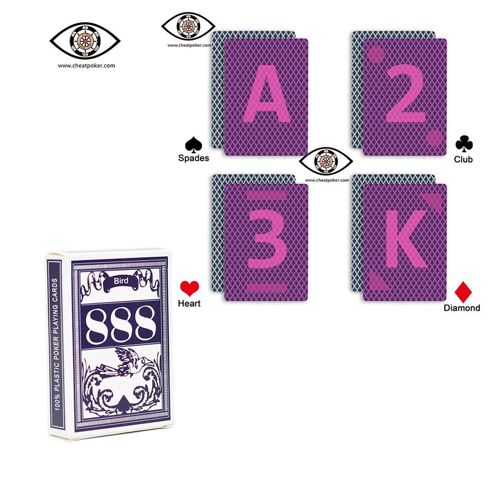 Marked Cards Poker For Infrared Perspective Lenses,Russian Magic Anti Cheating Playing Cards