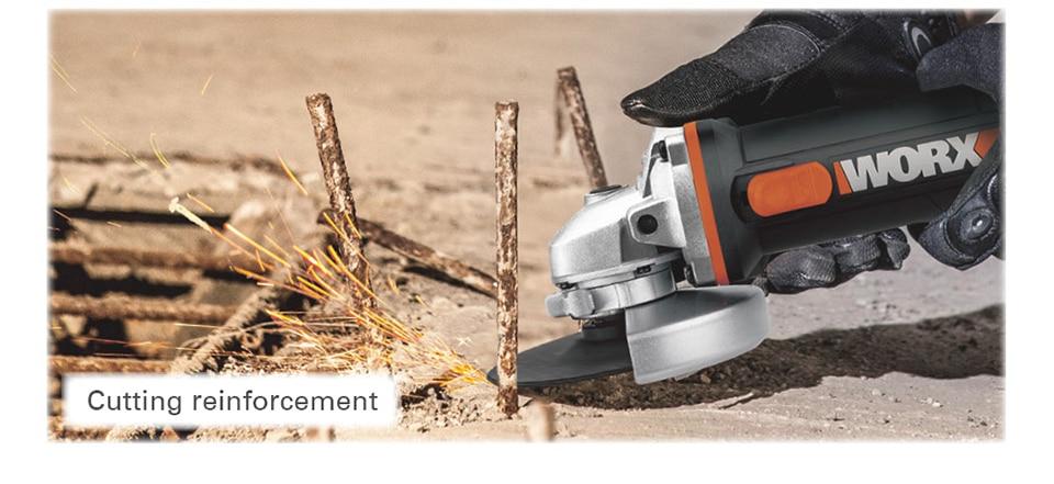 Cutting Reinforcement With Worx