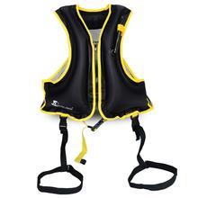 HiMISS 1 шт. надувной плавательный жилет для взрослых спасательный жилет для подводного плавания спасательный жилет высокое качество высокая воздушная плотность долговечность 0,25 мм