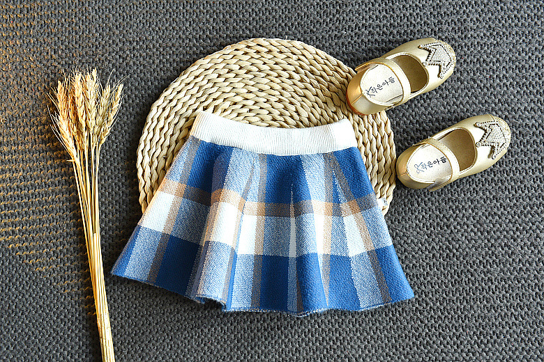 Baby Girls Winter Clothes Set Christmas Outfits Kids Girls Plaid Knit Sweater&skirt Fall Girl Clothing Set Children Costume 21