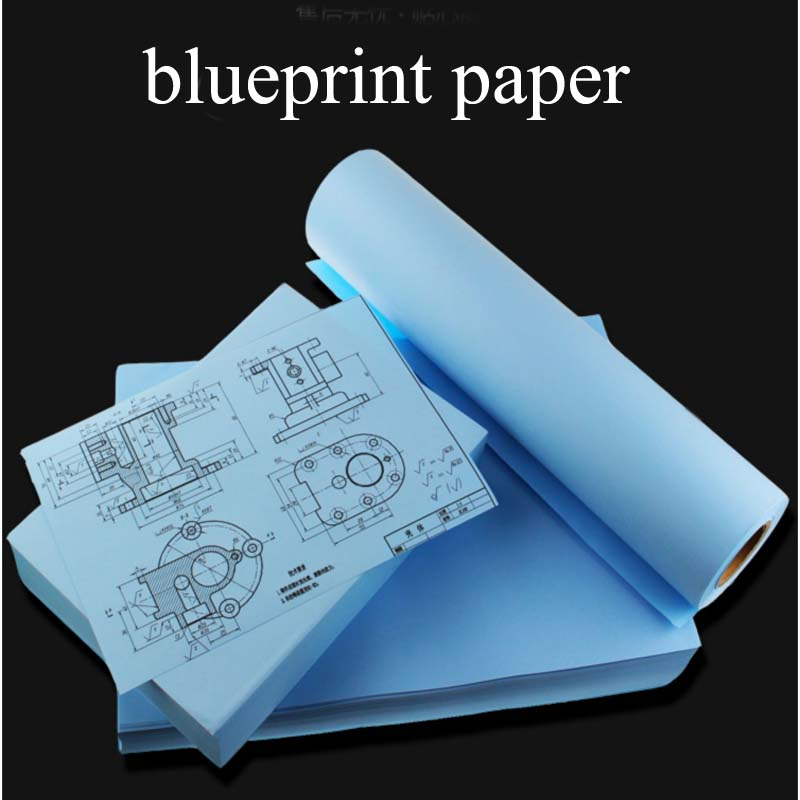 80g A4 A3 A2 2-inch core CAD engineering drawing paper laser digital printing paper double-sided blueprint paper machine