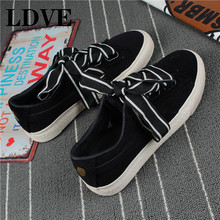 2019 New Vulcanize Canvas Women Shoes Casual Female Sneakers Classic Low Top Students Comfortable Breathable Footwear