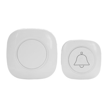 Waterproof Wireless Doorbell 1 2 Button 1 2 3 Receiver 300M Remote Intelligent LED Light Home Door Bell Wireless Chime