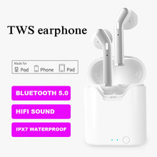 TWS Wireless Headphone Bluetooth 5.0 Hi-fi Sound True Wireless Stereo Earphone Earbuds Mini Headsets For phone