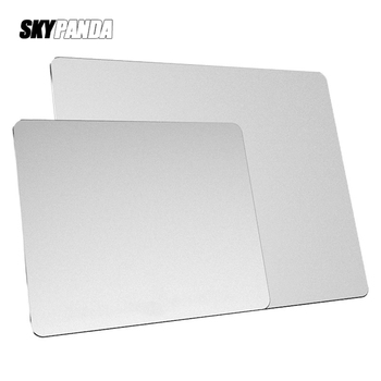 Aluminum Alloy Smooth Mouse Pad 240x180/300mm Hard Metal Slim Desk Mat Rubber Anti-slip Bottom Speed Control Mousepad For Gaming image