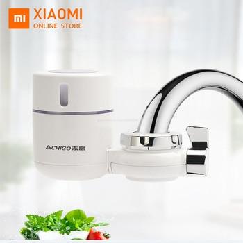цена на Xiaomi Chigo Water Purifier Faucet Filter Direct Drinking Water Household Water Filter Purifier Purification For Kitchen Water