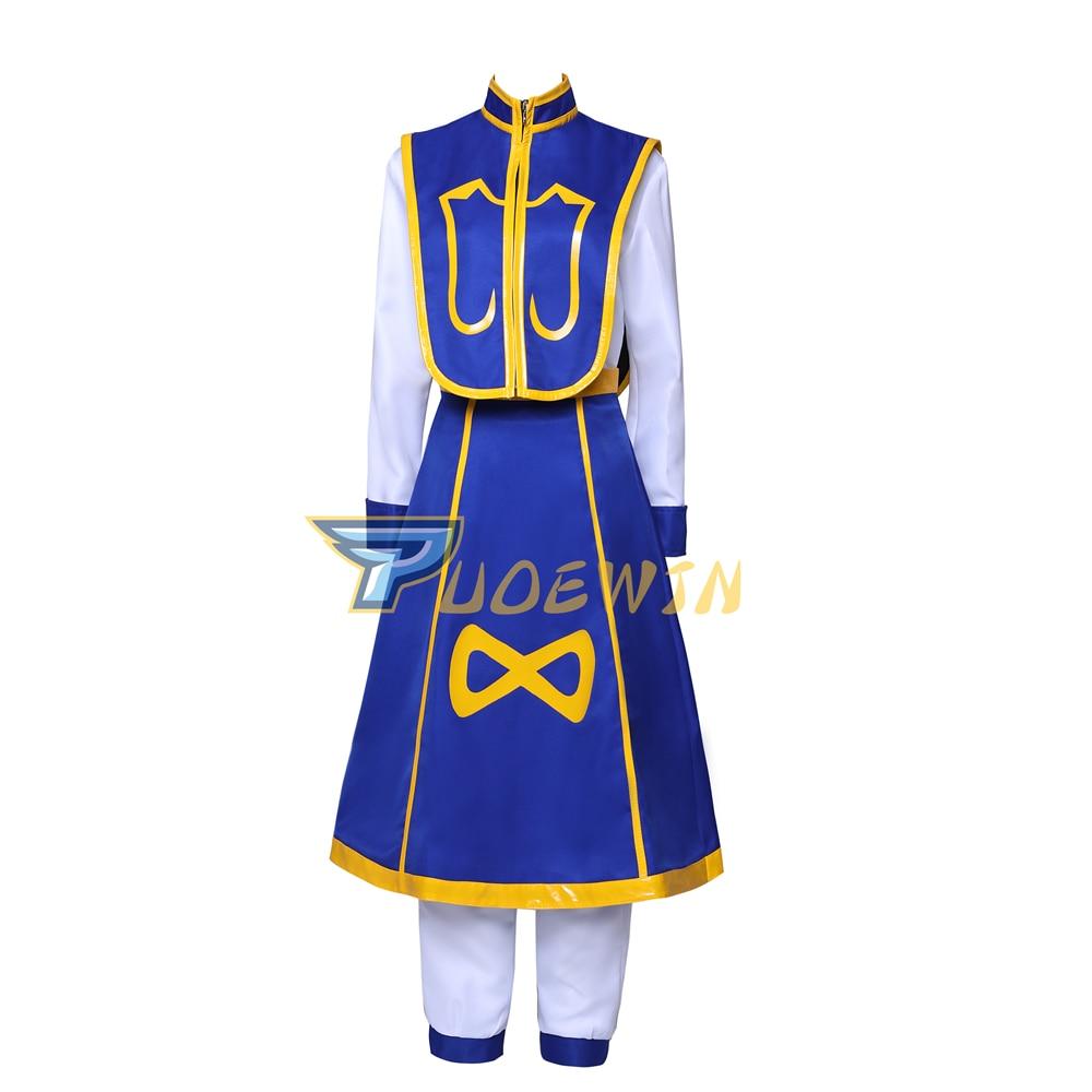 Hunter X Hunter Kurapika Cosplay Costume Halloween Outfit Custom Made