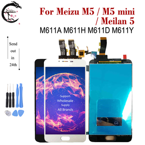 Image 2 - LCD For Meizu M5 M5s LCD M5 mini M5mini Display Touch Screen Digitizer Assembly Meilan 5 M611A M611H M611D Display Meilan 5s LCD