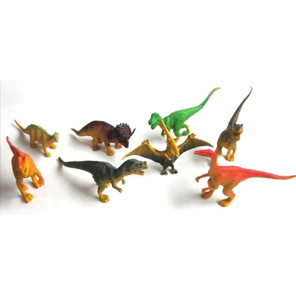 Nuovo Mondo dei Dinosauri Tyrannosaurus Therizinosaurus Spinosaurus Action Figures Jurassic Dinosaurs Modello Action Figure Giocattoli di Modello