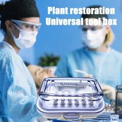 Dental Universal implante destornilladores de Torque llave herramienta de reparación restauración implante Caja de Herramientas implante destornillador llave Kit