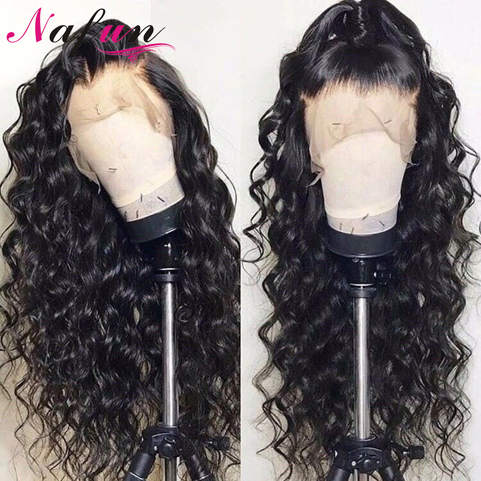 Water Wave Wigs Human Hair Lace Front Wigs Transparent Lace Wigs Pre Plucked Natural Hairline Remy Wig 13x4/13x6 Lace Front Wigs