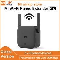 Xiaomi-Amplificador de enrutador WiFi versión Global, repetidor Mi de 300M y 2,4G, enrutador expansor de red, 2 antenas para el hogar y la Oficina