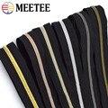 20meter Meetee 3 #5 # Nylon Reiß Spule Zip Open-end DIY Handtasche Garment Kleidung Zipper Tailor nähen Zubehör