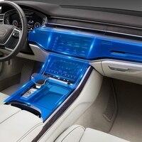CarManGo for Audi A8 A8L D4 4H D5 2011 2019 Car Monitor Screen Protector Film Foils Cover Trim Sticker Interior Accessories