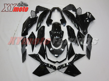 Motorcycle Fairings Kit For Kawasaki Z1000 10 11 12 13 Injection ABS Plastic Fairing Z 1000 2010-2013 Gloss Black Bodyworks