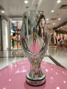 The Super Cup trophy The Champions trophy cup nice gift for Soccer Souvenirs Award