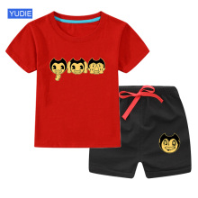 2020 Boys Clothes Summer Kids Baby T Shirt set  Short Boy Outfit Sport Suit Children Clothing Set 3 4 5 6 7 Years