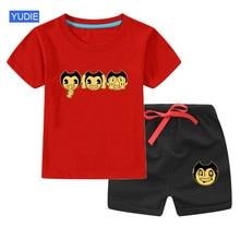 2020 Boys Clothes Summer Kids Baby T Shirt set  Short Boy Outfit Sport Suit Children Clothing Set 3 4 5 6 7 Years цена 2017