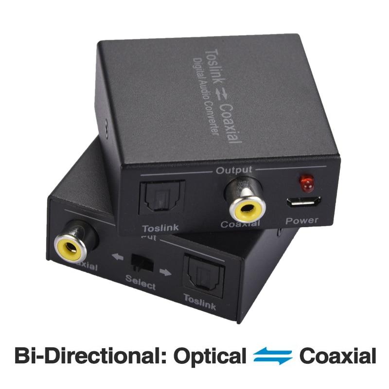 Rokoo Conmutador de audio /óptico digital Conmutador de cable de 3 v/ías SPDIF Toslink Cable Hub para reproductor de CD