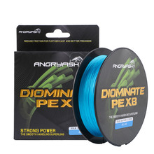 Diominate PE X8 Fishing Line 500M/547YDS 8 Strands Braided Multifilament Blue