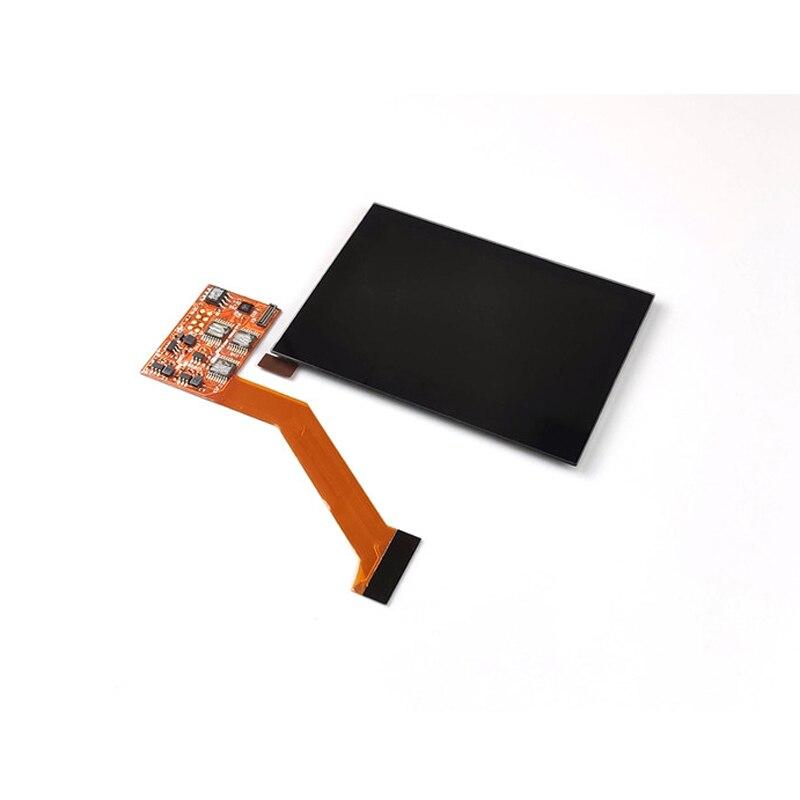 Mettre en évidence l'écran LCD IPS pour les pièces de réparation de Console de jeu ntint GBA SP écran LCD de remplacement luminosité à 5 niveaux réglable