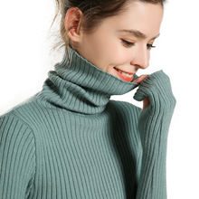 adohon 2019 woman winter 100% Cashmere sweaters and auntmun knitted Pullovers High Quality Warm Female thickening Turtleneck adohon 2018 womens winter cashmere sweaters and auntmun women knitted pullovers turtleneck high quality warm female solid