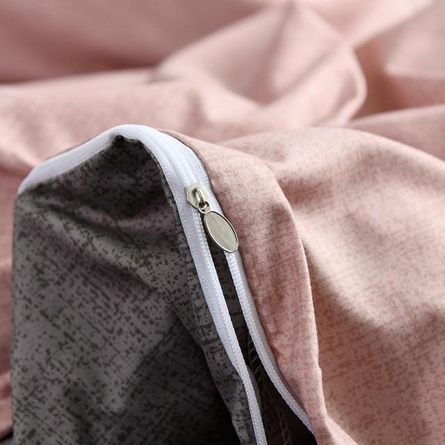 AB side-ensemble de literie simple et solide | Nouvelle collection 2019, literie moderne, draps de lit plats, king queen, lit double court