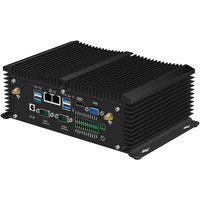 Mini PC Core i5 8250U 7200U i7 7500U DDR4 RAM 2*RS485 Dual LAN HDMI WiFi 4G Module Windows Linux Fanless Industrial Computer
