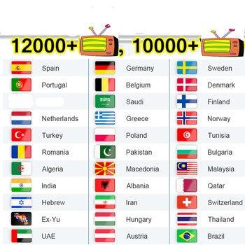 4K Iptv Sweden Smart Iptv M3U List Germany Arabic Poland Greek Iptv Spain Belgium Czech Netherlands No APP Or Channels Included