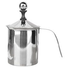 Thickened Double-Layer Milk Frother Milk Frother Manual Milk Frother Fancy Coffee Cup Milk Frother Machine 800Ml