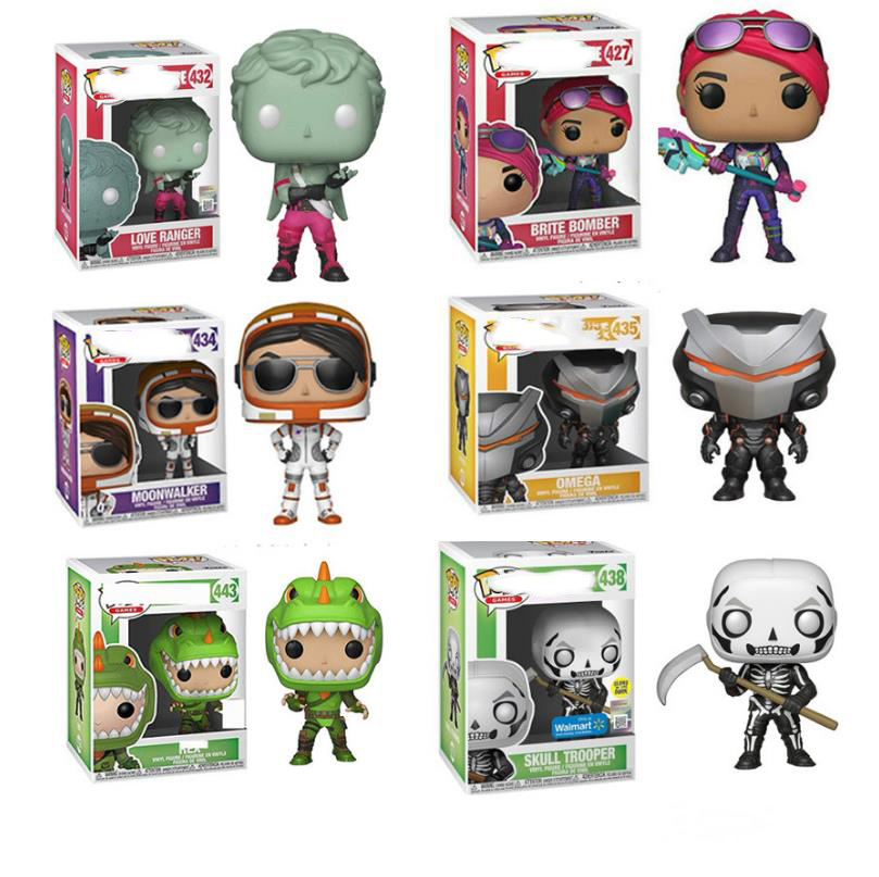 Funko POP GAME Fortnited Battle Royale fortress night PVC Model Boy Toys Figure Vinyl Model Collection articles gifts toys