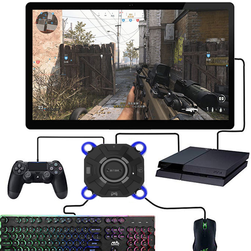PS4 Xbox One Keyboard Mouse Adapter Gamepad Controller Converter For PS4 PS3 Xbox One Nintendo Switch FPS Game Accessories image