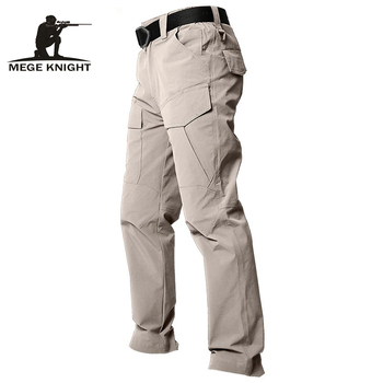MEGE jakość marki letnie spodnie taktyczne szybkoschnące oddychające wojskowe wojskowe spodnie bojówki dorywczo męskie spodnie bojówki lekkie tanie i dobre opinie MEGE KNIGHT Ołówek spodnie Mieszkanie Poliester NYLON NONE REGULAR Pełnej długości W stylu Safari Suknem Zipper fly