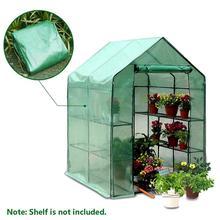 Household-Plant Greenhouse Garden Warm 143x73x195cm Two-Floors Mini