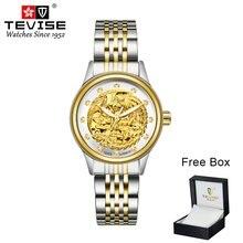TEVISE Women Mechanical Watch 9006 Tourb