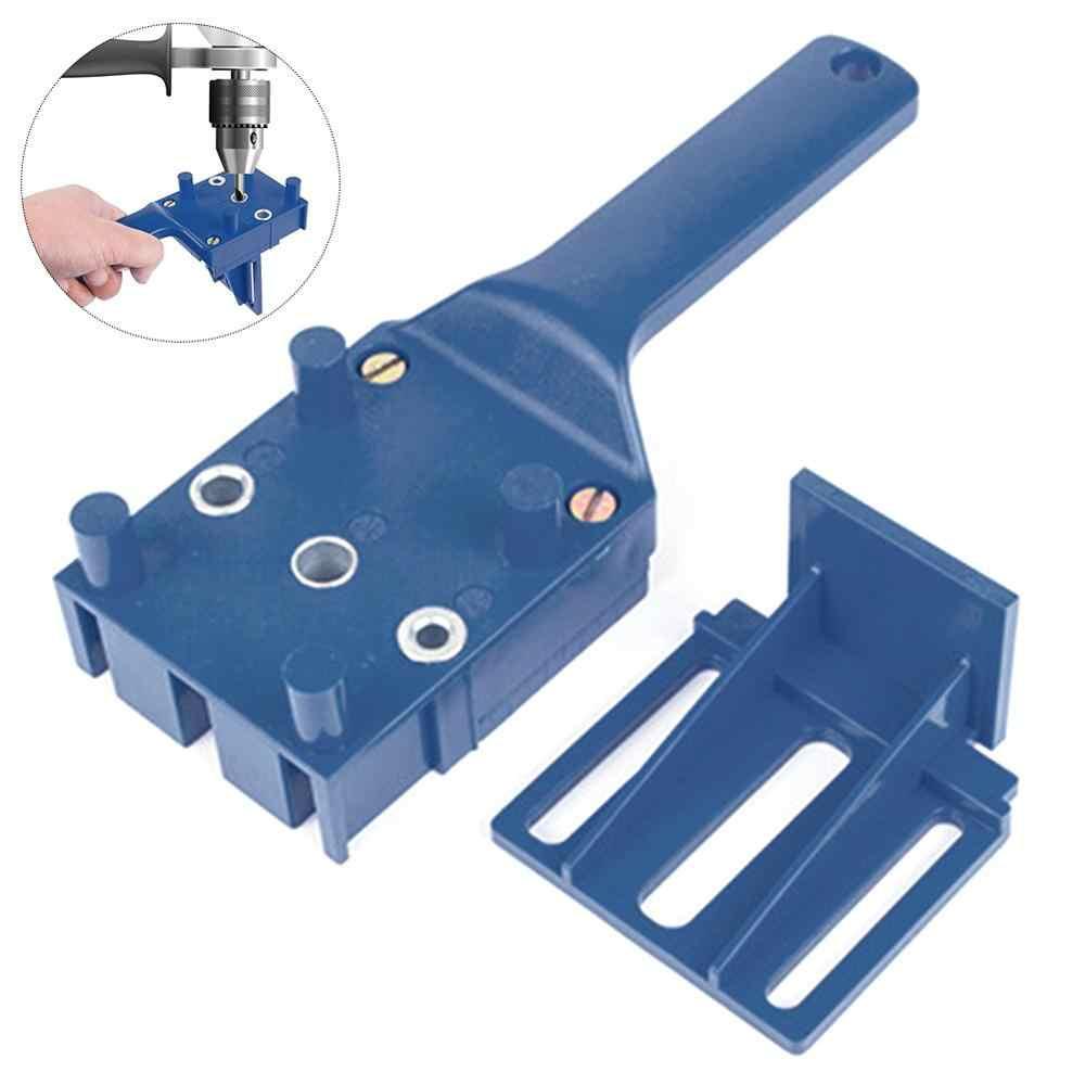 נגרות דובל לנענע מתאים 6 8 10mm מקדחי Doweling חור DIY נגרות כלים עץ קידוח מדריך יד כלים