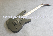 Hot Sale Jacks Style Electric Guitar Glossy Black Finish Electrica Guitarra Left Handed Guitar Kit Custom Available create a left handed explorer model electric guitar in black same in black